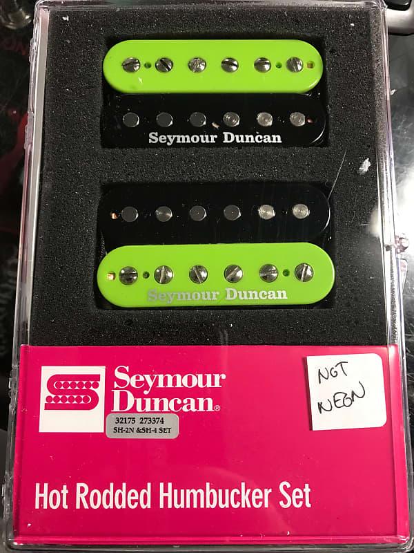 Seymour Duncan Hot Rodded Humbucker Pickup Set JB /& Jazz Black