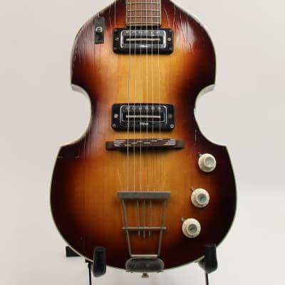 Hofner 459 Violin Guitar 1966 1966 Sunburst for sale