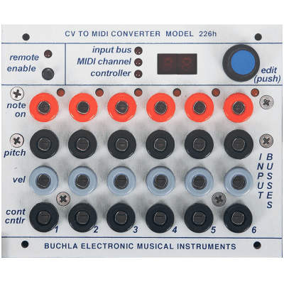 Buchla 226h CV-MIDI Interface