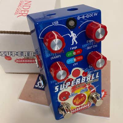 Alexander Pedals  Superball Kinetic Modulator 2019 Blue