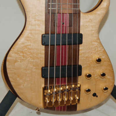 Tobias Signature 6 Birdseye Maple 6 String Bass for sale