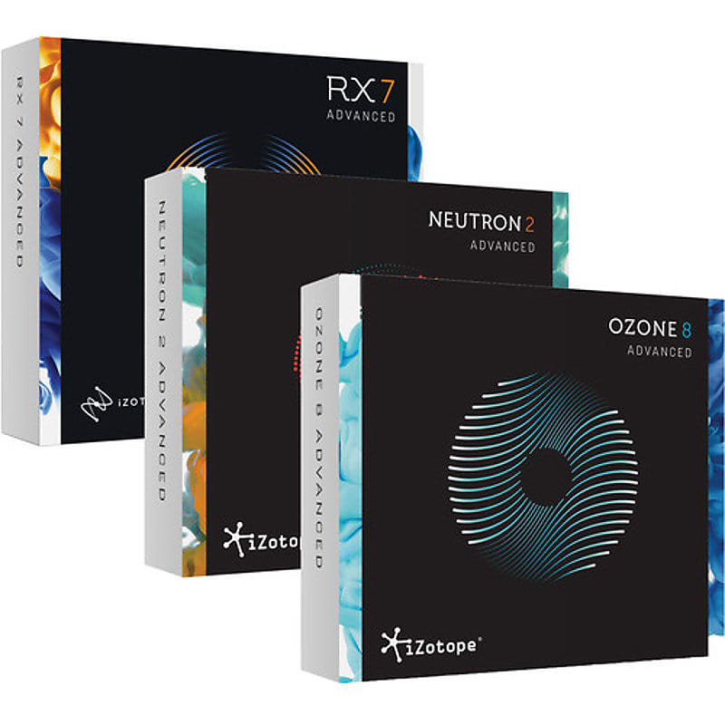 iZotope Award Winners Bundle Software for Post Production, Mixing &  Mastering