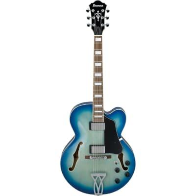 Ibanez AF75JBB AF Artcore Guitar - Jet Blue Burst for sale