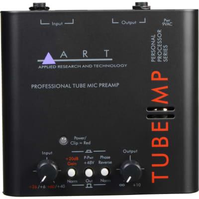 ART TUBEMP The Original Edition tube preamp w/ 12AX7 tube, 48v phantom power, phase invert, 70dB gain