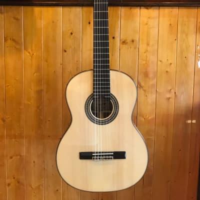 Carparelli AC-800 Classic Guitar - Natural w/OHC for sale