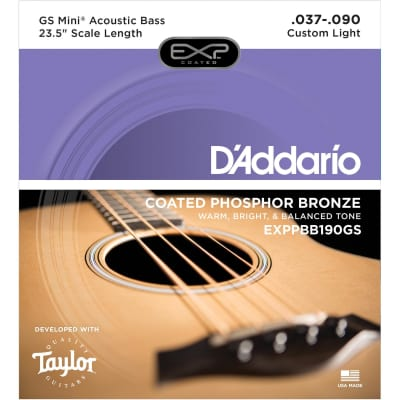 Daddario 37-90 EXP Custom Medium GS Mini Acoustic Bass Strings