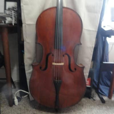 Abraham Prescott (?) New England Church Bass c. 1840 Cello