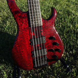 Modulus TBX (neck Through Quantum) 5 String Bass Guitar for sale