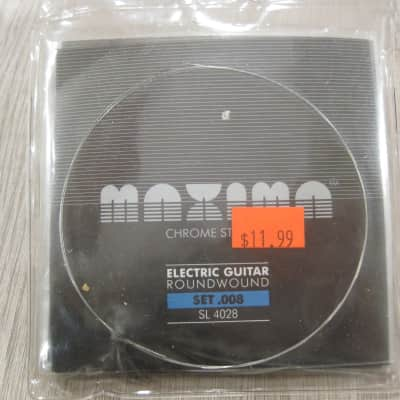 Maxima SL 4028 Chrome Round Wound Super Light 8-38 Electric Guitar Strings SL4028 for sale