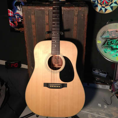 Mitchell MD-100 Dreadnought Guitar Natural for sale