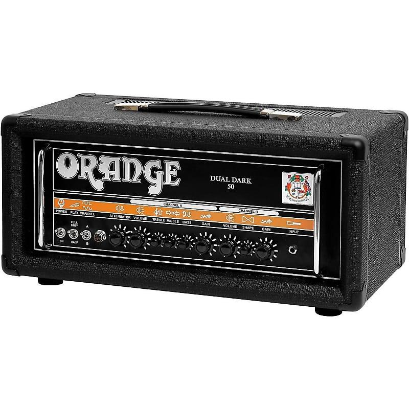 orange amplifiers dual dark 50w high gain guitar head dd50h reverb. Black Bedroom Furniture Sets. Home Design Ideas