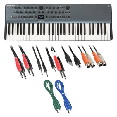 Modal Electronics Argon8X 61-Key Polyphonic Wavetable Synthesizer - Cable Kit