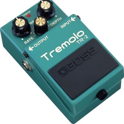Boss TR-2 Tremolo Guitar Effect Pedal for sale