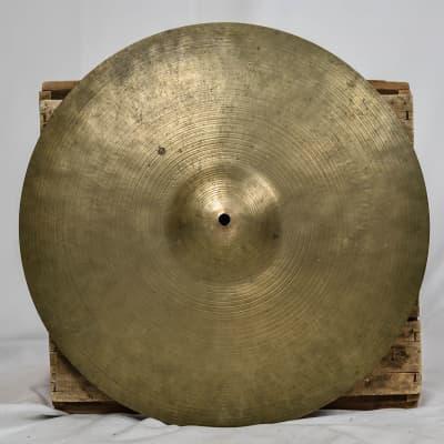 """K. Zildjian 16"""" Intermediate Stamp Crash Cymbal 1959-1966"""