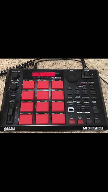 Mpc Mpc500 2007 Blackred Reverb