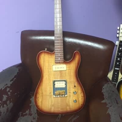 Acepro AE-204 Tele 2010 Spalted burst for sale