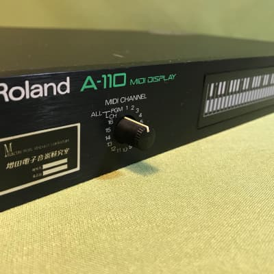 Roland A-110 Midi Display Vintage 80's -- Shop-certified