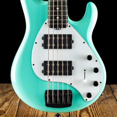 Music Man StingRay5 Special HH - Cruz Teal - Free Shipping