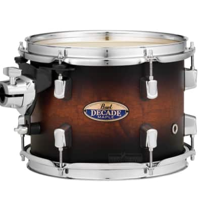 "Pearl Decade Maple 16""x16"" Floor Tom - Satin Brown Burst"