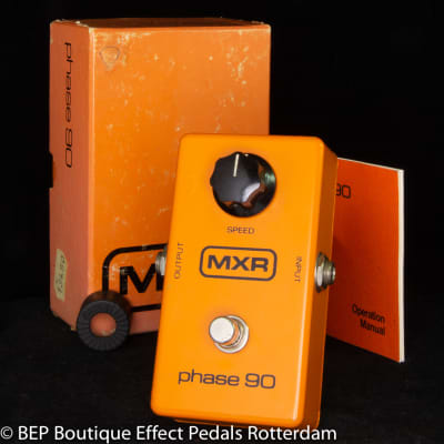 MXR Phase 90 without LED s/n 1-062536 Block Logo 1980 USA