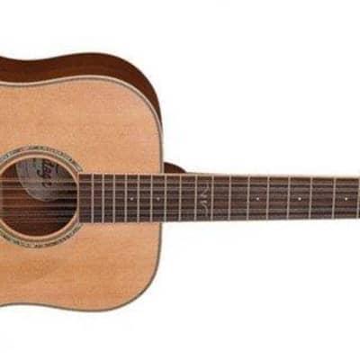 Vintage V501 12-String Acoustic Dreadnought, Satin Natural for sale