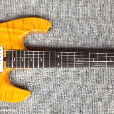 Lodestone Artist electric guitar, model # EA-QM-TH, 2008? Natural for sale