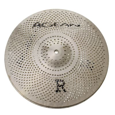 "Agean Cymbals 14"" Silent R-Series Low Volume Hi-Hat"