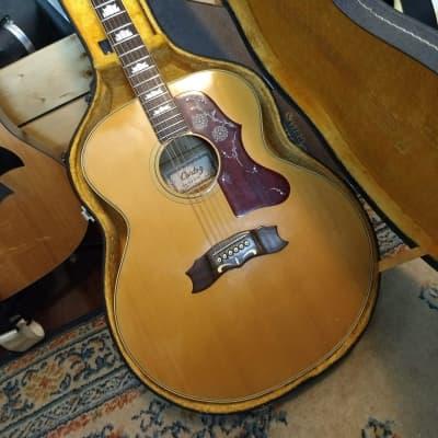 Cortez J-200 Acoustic Guitar 70's Natural w OHSC MIJ Japan for sale