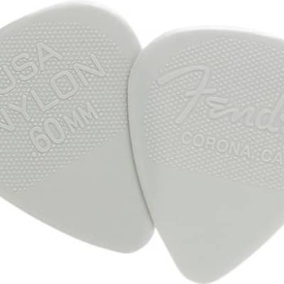 Fender Fender Nylon Pick .60 12 Pack - White for sale