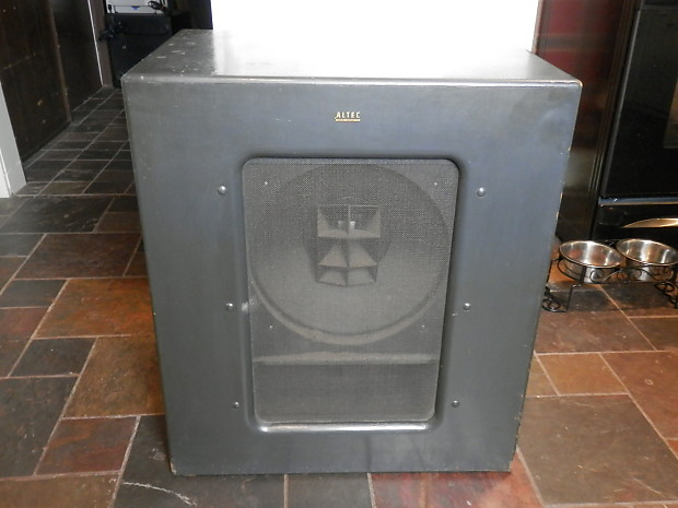 Vintage Altec Lansing 612 Cabinet With 603 Multicell Dia