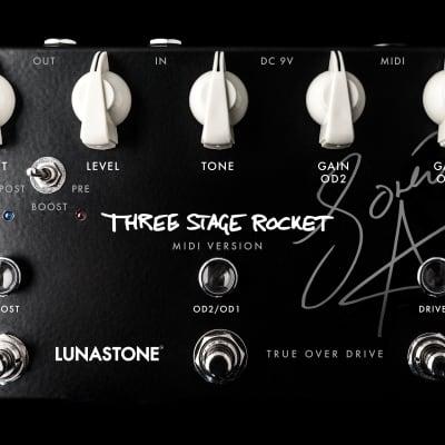 Lunastone Three Stage Rocket, MIDI version