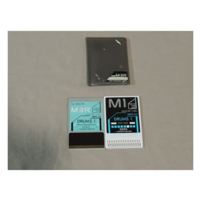 Korg M3R Drums 1 Memory card RPC-03 & MSC-03 for M-3R [Three Wave Music]