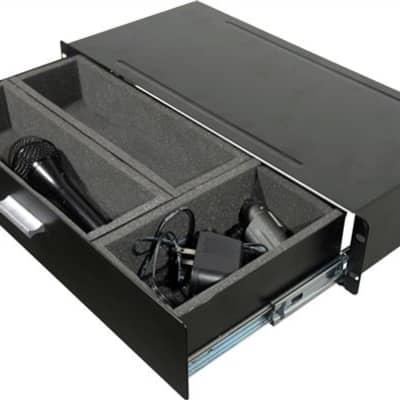 Grundorf 75110 Compact Rack Drawer for Wireless Racks