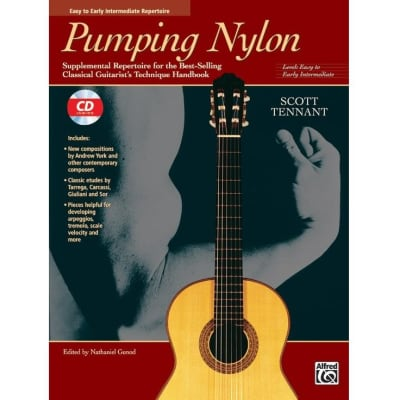Pumping Nylon: Supplemental Repertoire for the Best-Selling Classical Guitarist's Technique Handbook - Easy to Early Intermediate (w/ CD)