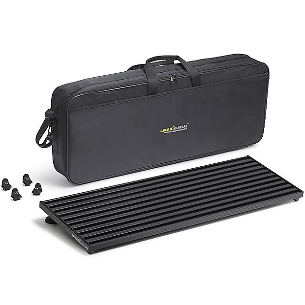 Aclam Smart Track L2 Pedal Board With Soft Case Black Reverb