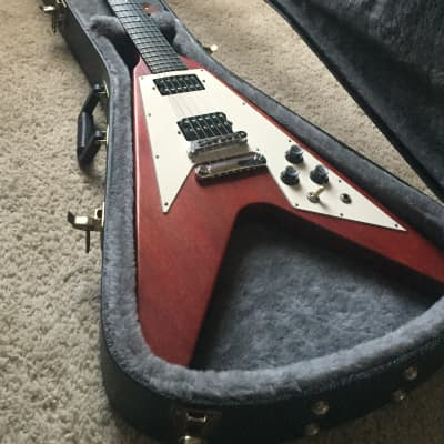 Gibson Flying V *RARE* Crecent Moon Inlays for sale