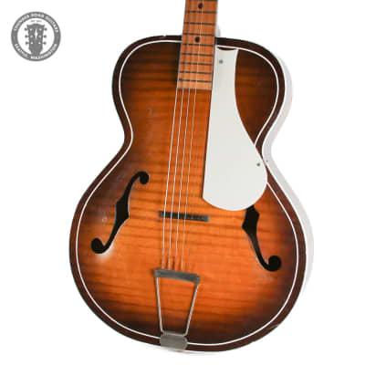 1960s Truetone Archtop Acoustic Guitar in Sunburst for sale