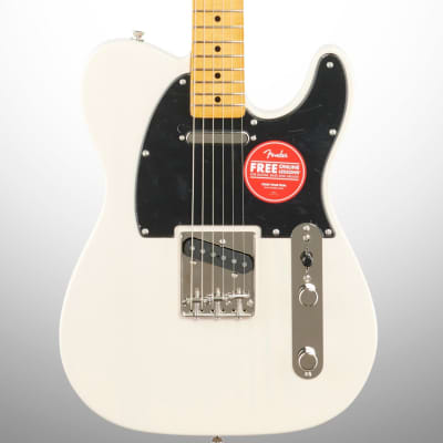 Squier Classic Vibe '50s Telecaster Electric Guitar, White Blonde
