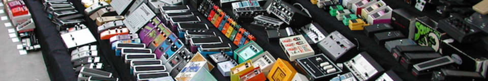 Crazy Larry's House of Guitar Pedals (& Other Gear)