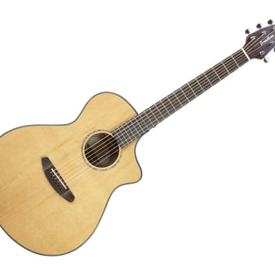 Breedlove Pursuit Series Concert CE Hollow Body Acoustic-Electric Guitar Ovangkol/Red Cedar - PSCN01CERCMA3