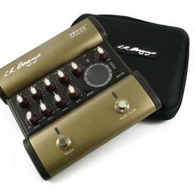 LR Baggs Venue DI Acoustic Preamp EQ/DI/Tuner Pedal works w/Martin or Taylor guitar image