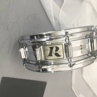 George Lynch Owned Rogers 70s Era Snare 1970s chromed metal