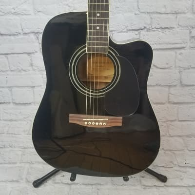 New York Pro NY-977CEQBK Acoustic Guitar for sale