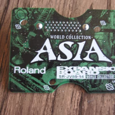 Roland Roland SR-JV80-14 Asia world expansion board card patches waveforms presets
