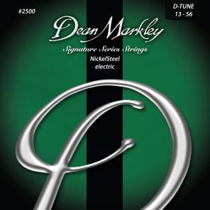 Dean Markley 2500 Signature Series Nickel Steel Electric Guitar Strings - Drop Tune (13-56)