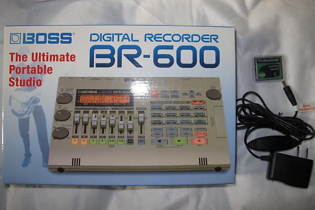 boss br 600 digital recorder reverb. Black Bedroom Furniture Sets. Home Design Ideas