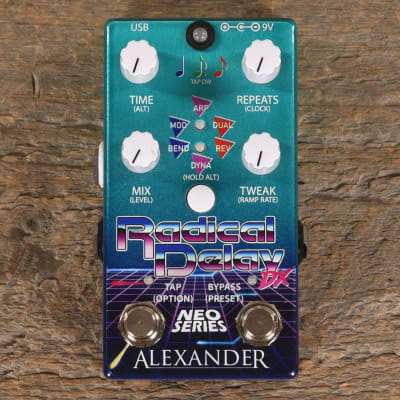 Alexander Pedals Radical Delay DX USED