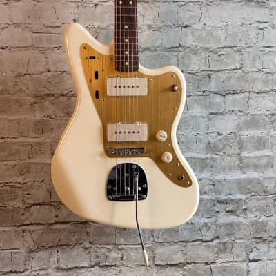 Squier J Mascis Signature Jazzmaster - Vintage White w/Indian Laurel Fingerboard for sale