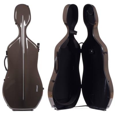 Gewa Gewa 341.270 Air 3.9 Brown 4/4 Cello Case with Black interior