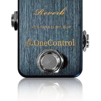 One Control BJF Designed Prussian Blue Reverb - One Control BJF Designed Persian Blue Reverb for sale